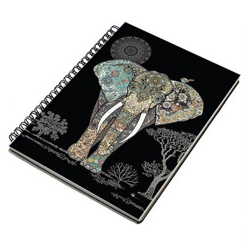 Bug Art Collection Elephant A5 Notebook Pad